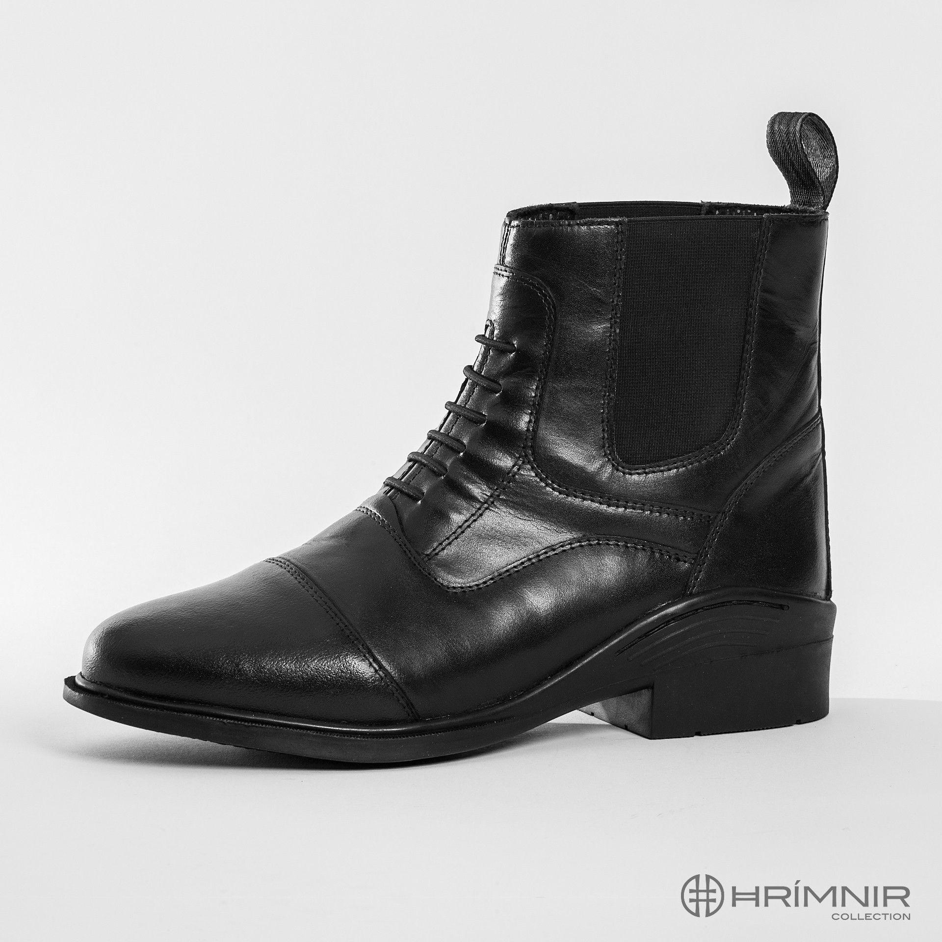 Jodphur boots front elastic