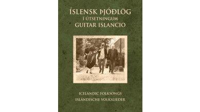 Icelandic Folk Songs, arranged by Guitar Islancio - Music book